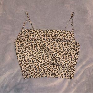✨NWT✨ Forever 21 Leopard Cheetah Print Cami Top